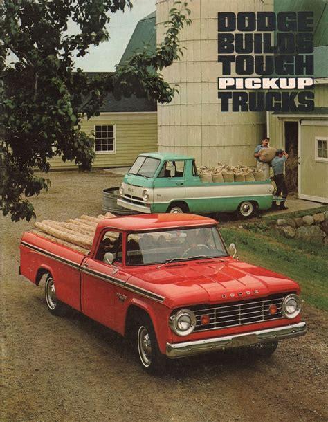 Chrysler Truck by Chrysler 1967 Dodge Dodge Truck Sales Brochure