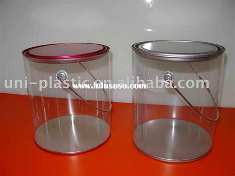 1 Gallon Clear Plastic Paint Cans by 1 Gallon Clear Paint Cans Wth Handle For Sale Price
