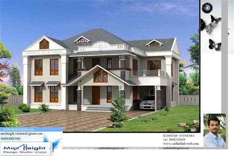 House Models And Plans Kerala House Model Latest Kerala Style Home Design