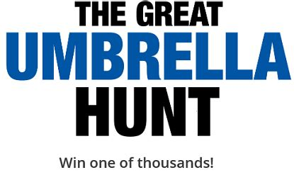 Weather Channel Giveaway - weather channel umbrella hunt sweepstakes 1 000 prizes freebiefresh