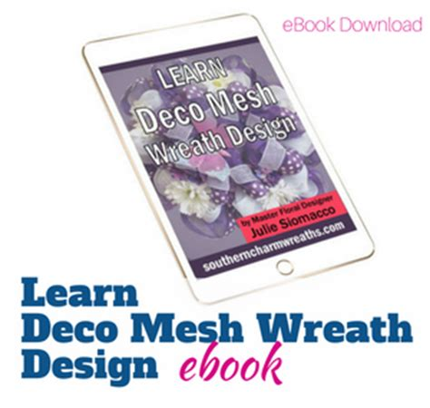 how to make mesh wreaths with two colors it s a deco mesh