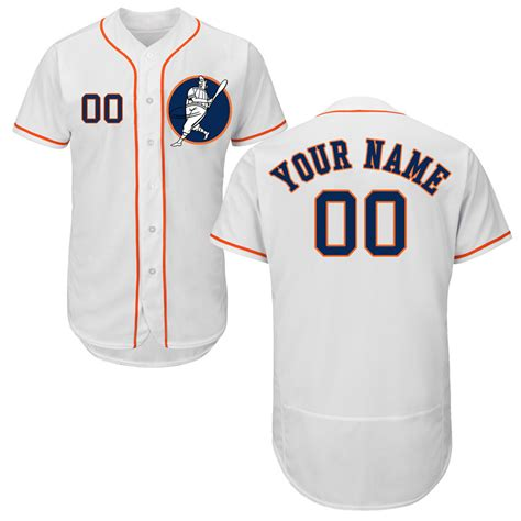 Design Jersey Custom | new astros white men s customized flexbase new design