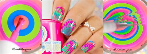 tutorial nail art water nail art tutorial feather water marble nail it