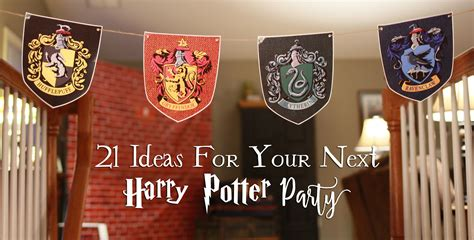 Birthday Decorations To Make At Home by 21 Diy Ideas For Your Next Harry Potter Party Another