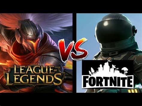 fortnite vs league of legends league of legends vs fortnite battle royale which is
