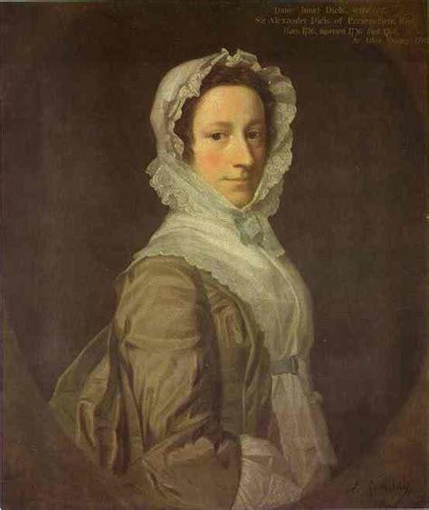 biography of allan ramsay artist portrait of janet dick 1748 allan ramsay wikiart org