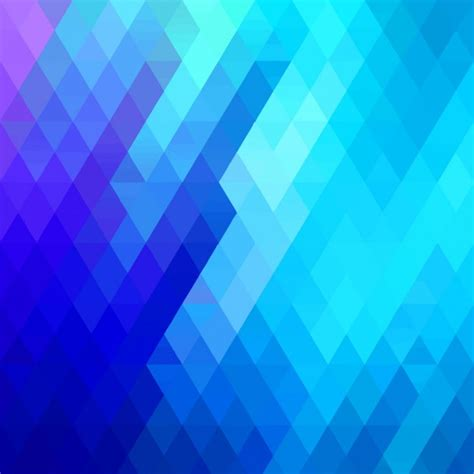 polygonal background  blue gradient vector