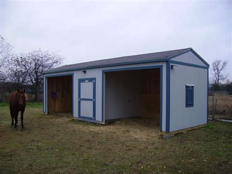 Tack Sheds For Sale by Country Premier Ranch Loafing Shed 12x28 Country Living