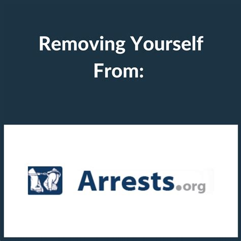 How To Remove Yourself From Records Removing Yourself From Arrests Org Brandyourself