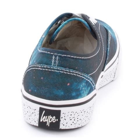 hype skater unisex canvas new shoes trainers size 3 4 5 6