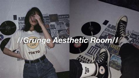 grunge aesthetic room youtube