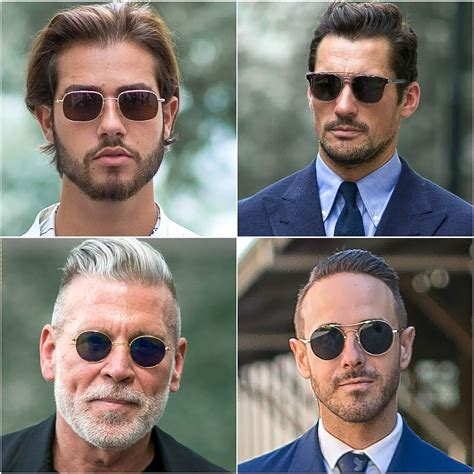eyeglass frames for men with square faces how to find the perfect sunglasses to suit your face shape