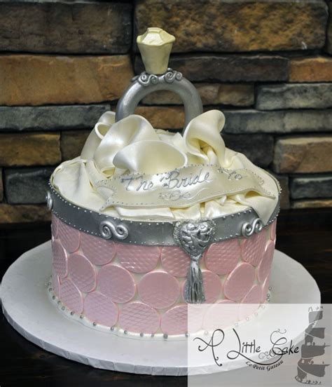 cake ideas bridal shower bridal shower cake open ring box themed cake a cake