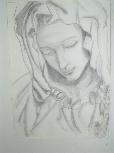 imagenes a lapiz de la virgen maria virgen maria by gabittamorgan on deviantart