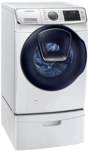 wf45k6500aw samsung 27 quot front load steam washer with smart care and vrt plus technology white