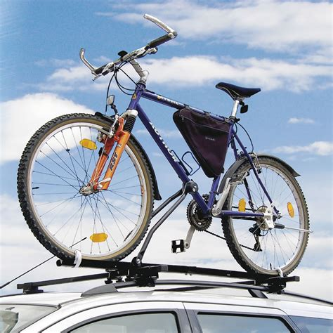 bike top bar pedalpro universal locking car roof top bar bicycle