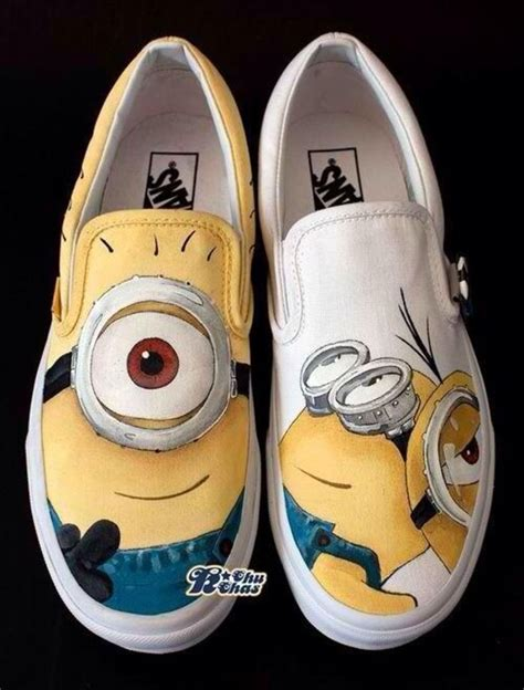 minion shoes minion shoes painted despicable me shoes slip on