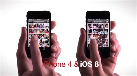 A Iphone 4 Iphone 4 And Ios 8 Update