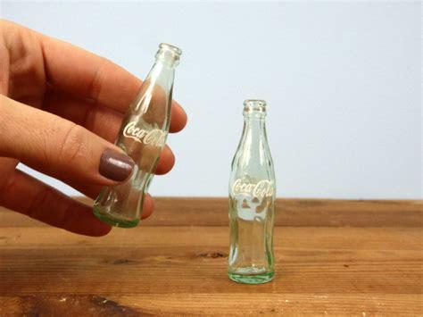 Miniature Bottle miniature coca cola glass bottle set vintage coke bottles