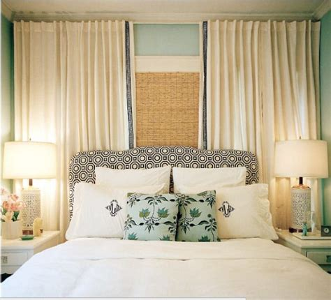 curtains for headboard curtain headboard bedroom ideas pinterest