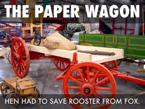 How To Make A Paper Wagon - the paper wagon by joliannroom402