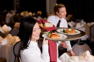 the description for banquet waitressing chron