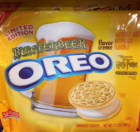 is the newest oreo flavor fried chicken first we feast things we saw today butterbeer oreos the mary sue