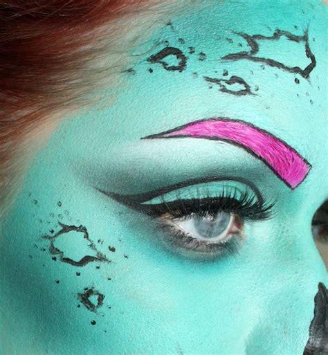 zombie mask tutorial pop art zombie tutorial costumes pinterest the