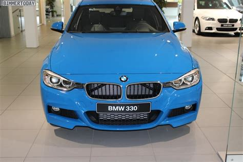 bmw blue colors f30 bmw 3 series in blue color
