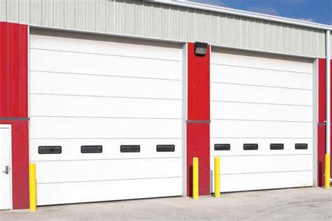 commercial garage doors overhead door des moines