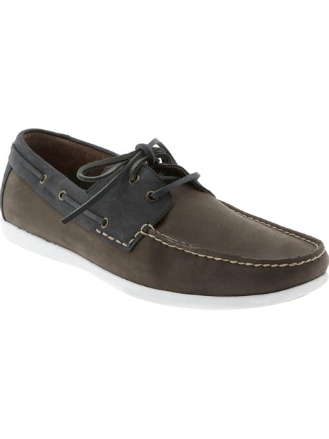 On Our Radar Banana Republic Supports The Earth by Banana Republic Alec Boat Shoe In Gray Grey Dk Navy Lyst