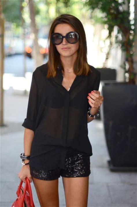 Black Bra Sheer White Blouse by 21 Sheer Shirt Ideas For Styleoholic