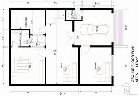 house map design 30 x 30 3 5 marla house plan map 30x30 gharplans pk