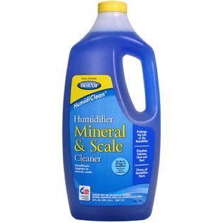 humidifier the cleaner home bestair 1c humidiclean 174 humidifier mineral scale cleaner