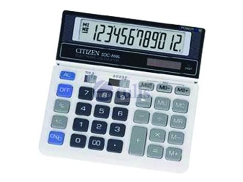 Kalkulator Citizen Sdc 868 L Up Calculation citizen calculator sdc 868l 12d 2power largest office