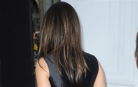mila kunis hair color back of mila kunis hair colour hair makeup