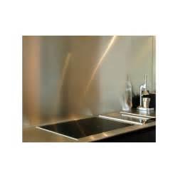 cr 233 dence de cuisine en inox bross 233 1mm alucouleur fr