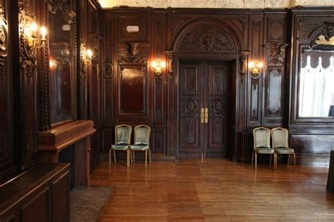 paneled rooms ornate room with unusually dark wood paneling nb ongoing