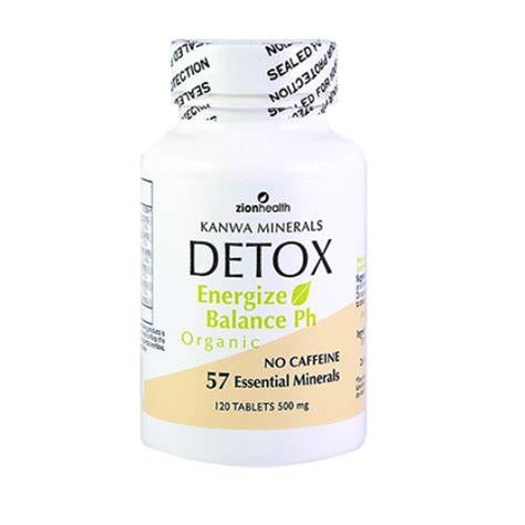 What Type Zinc For Detox by Whole Cleanse Kanwa Detox Supplements For