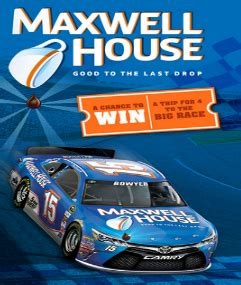 Win A House Sweepstakes 2015 - maxwell house ultimate racing instant win game sweepstakes win a trip to daytona