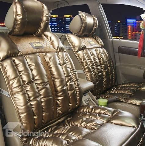 luxury car seat covers in delhi new arrival luxury shining leather style high quality