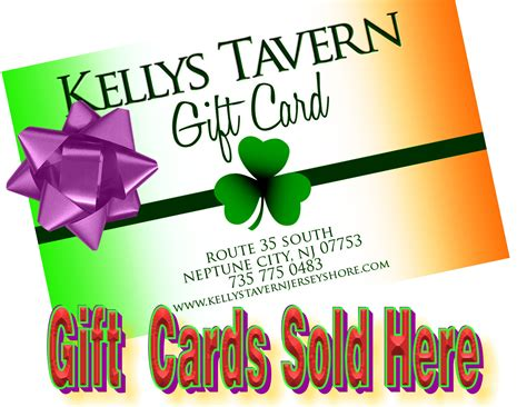 Buy Gift Cards Online Instantly - kelly s tavern at the jersey shore