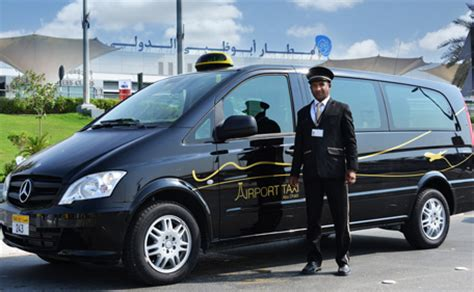 Airport Driver Service by Arrive At Abu Dhabi Airport Drive In Luxury Cabs
