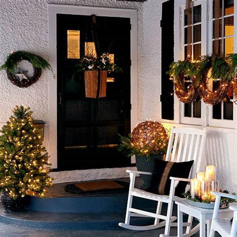 front porch decor 40 cool diy decorating ideas for christmas front porch