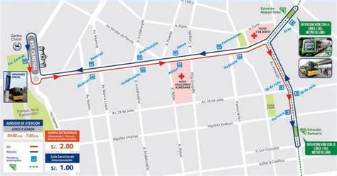 ruta alimentadores metro metro de lima horizonte 2025 municipalidad de lima