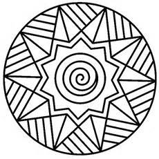 30 free printable geometric coloring pages