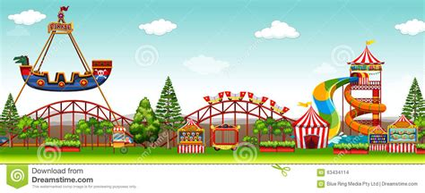 theme park clipart the amusement park clipart clipground