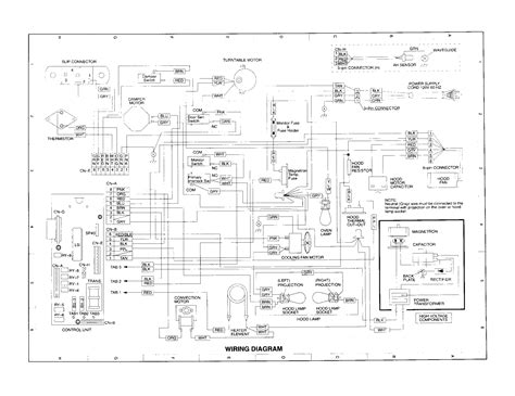 sharp refrigerator wiring diagram wiring diagram with
