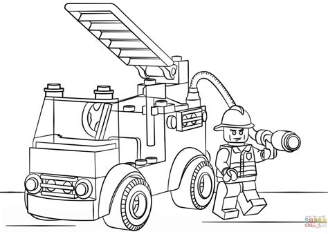 pin fire truck coloring pages on pinterest carros de bomberos para colorear pictures to pin on