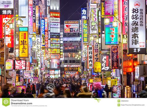 japan red light district tokyo the neon light of tokyo red light district editorial photo